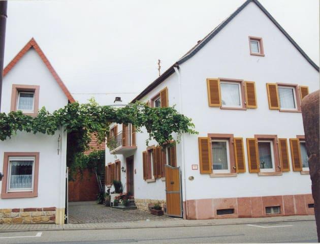 Auf dem Winzerhof nahe Landau Pfalz - Essingen - Apartamento