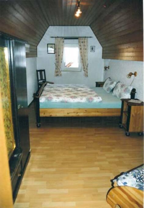 Doppelzimmer im Obergeschoss