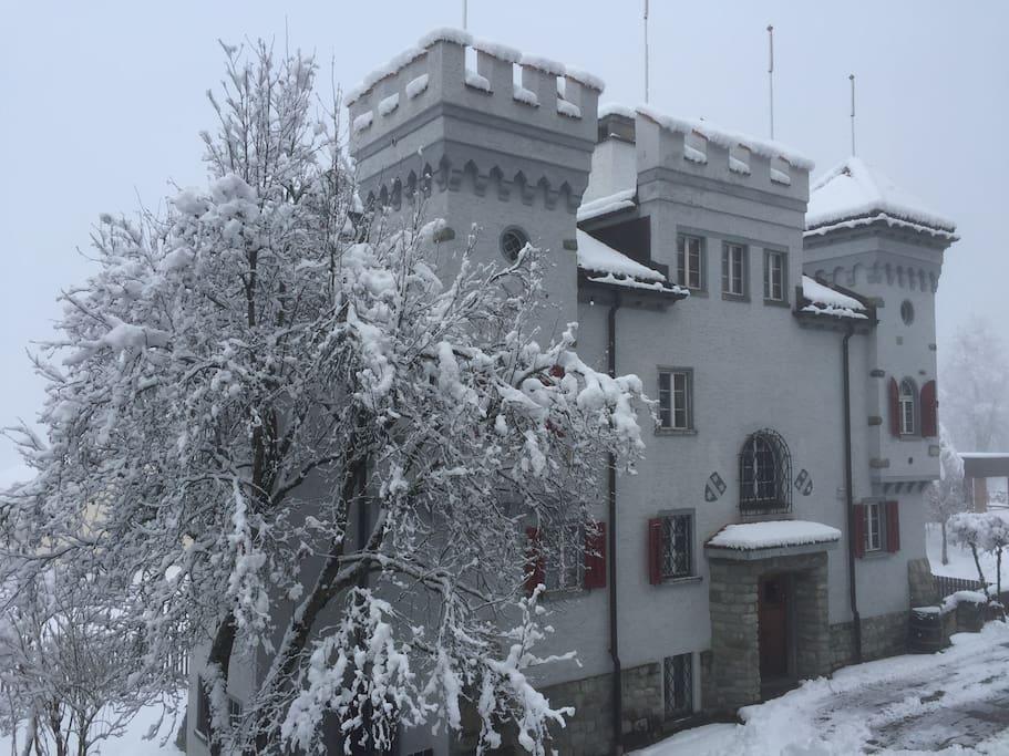 Castello in Inverno