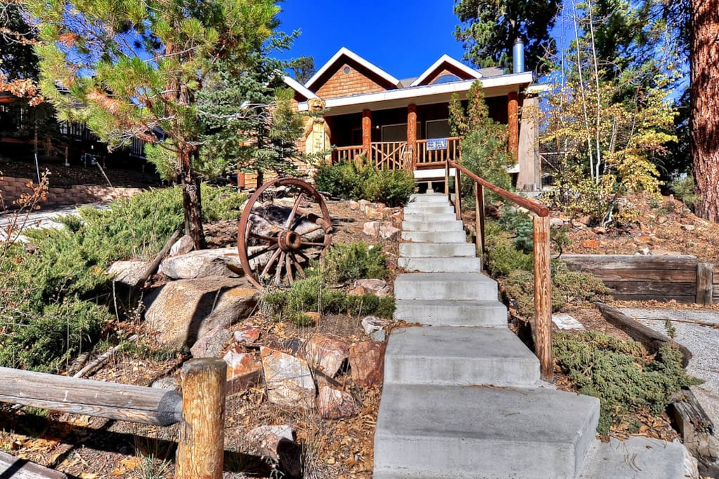 1 slope side at bear mountain cabins for rent in big Big bear cabins california