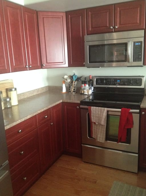 Nice well-equipped kitchen to share