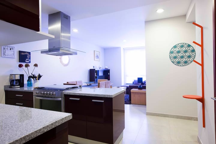Cozy new appartment in Polanco