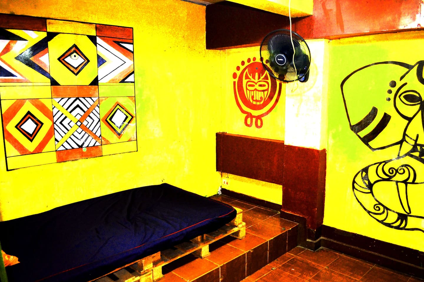 African style room