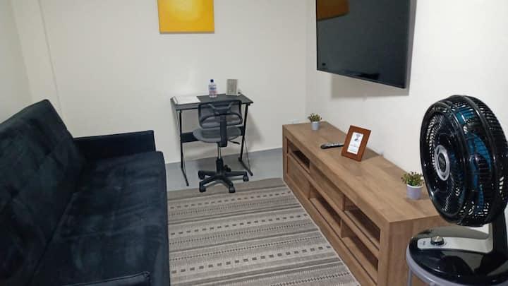 Apartamento 06-50m² 10 minutos do  AEROPORTO GRU