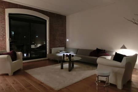 Amerika in Rotterdam (3-Level Loft)