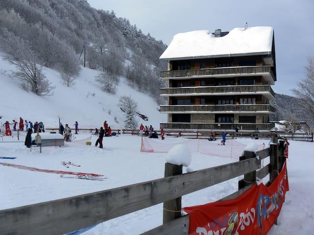 Spacious ski flat in Col de Rousset - Saint-Agnan-en-Vercors - Apartament