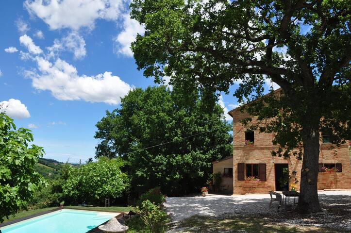 Country house with private pool - Ripe San Ginesio - House