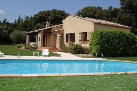 House in Provence - Montaren-et-Saint-Médiers