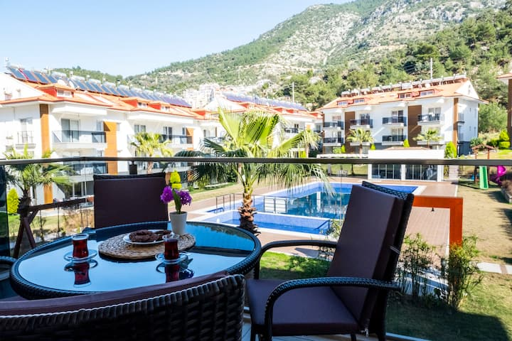Likya Garden (A7) Luxury Apartment on Ölüdeniz Way