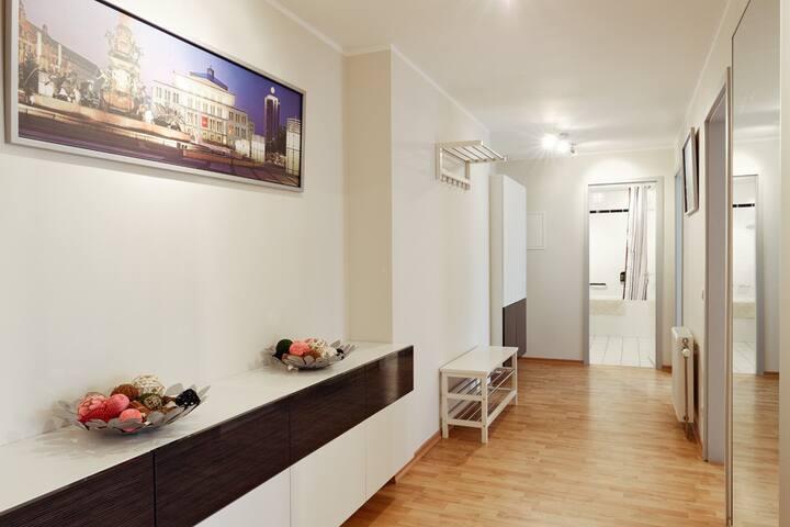 beautiful apartment #1101,free wifi - Leipzig - Apartamento