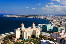 Place you can not miss during your trip to Cuba. National Hotel
