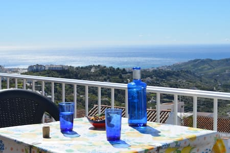 AMAZING VIEWS FROM 2 TERRACES - Frigiliana - Apartamento