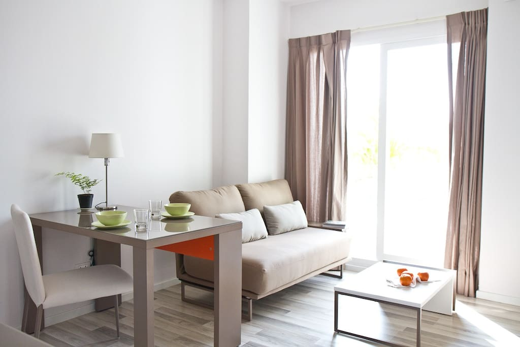 Bright and cozy living space for your holiday in Chiang Mai