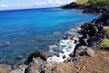 The Hawaiian coastline is absolutely stunning
