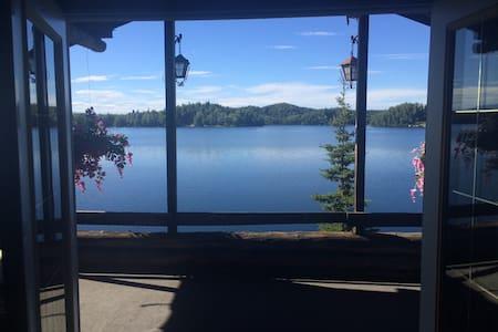 Cabin on Big Lake sleeps 6 - Big Lake - 小木屋