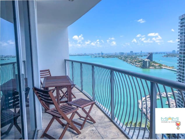 •LUXURY Miami Apartment AMAZING OCEAN VIEW @5*!!
