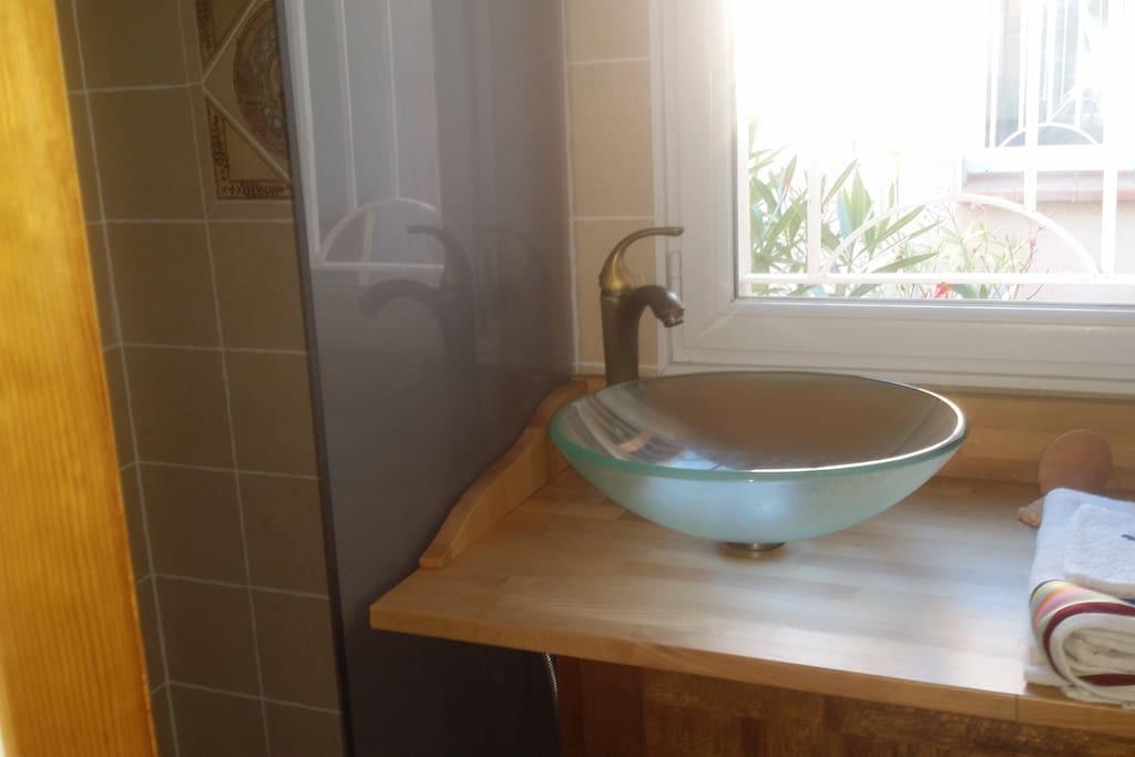 Salle de bain douche à l italienne