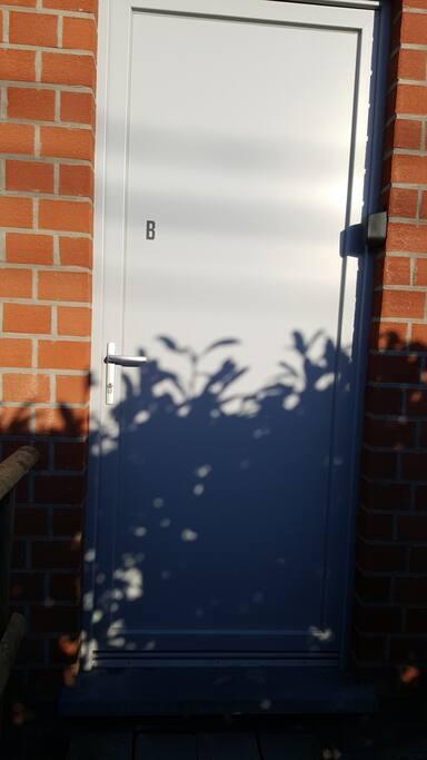Porte d'entrée privée