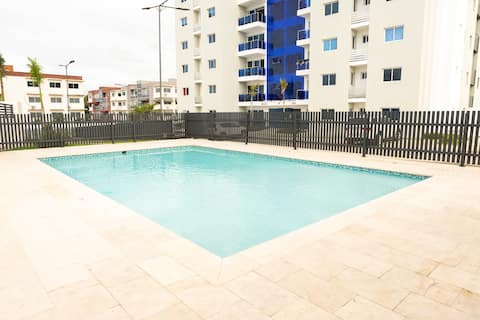 Apartment with Swimming Pool, Gym, Security 24/7