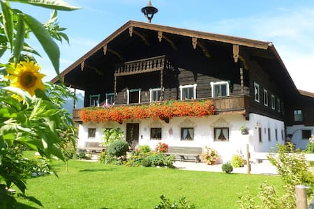 Sunny appartment with terrrace - Inzell - Casa