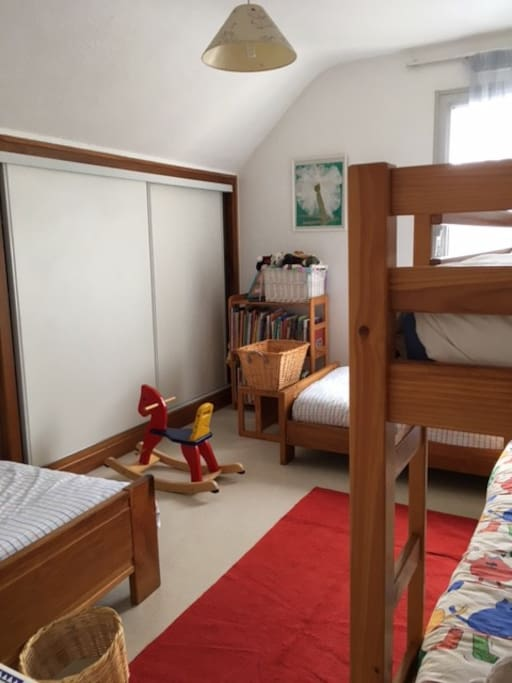 4 lits Chambre enfants