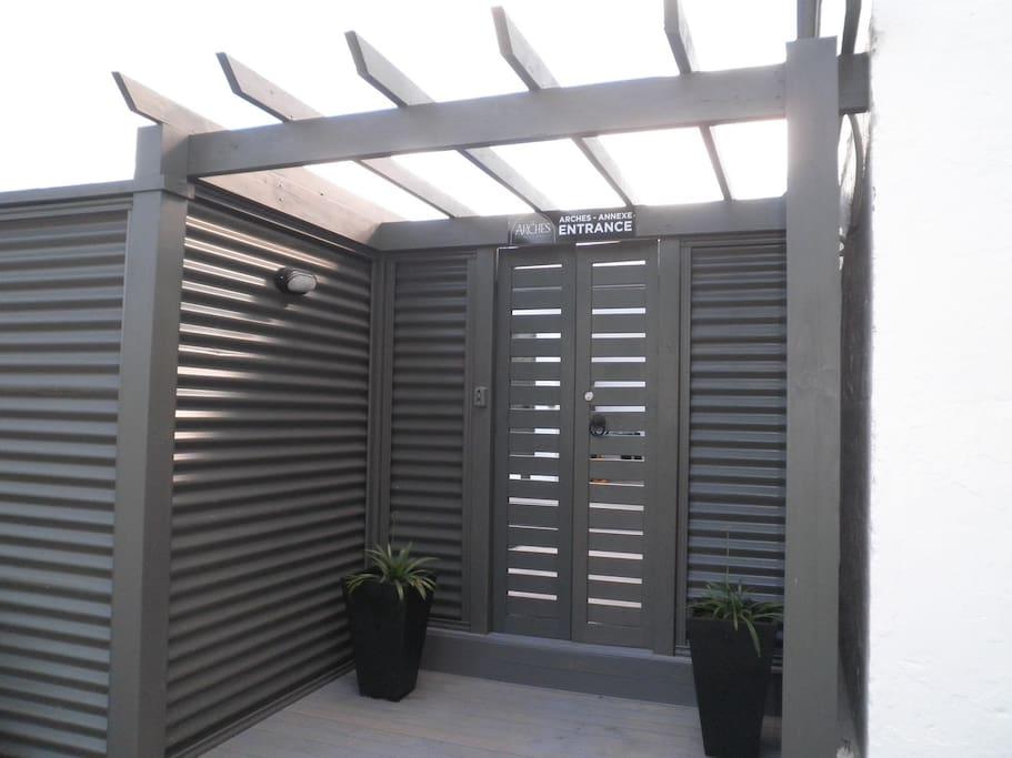 Annexe  Private Secure Entrance