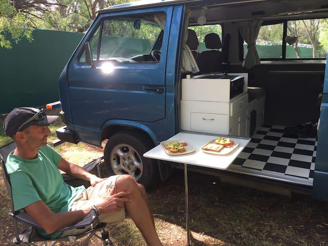 2 berth VW Classic campervan
