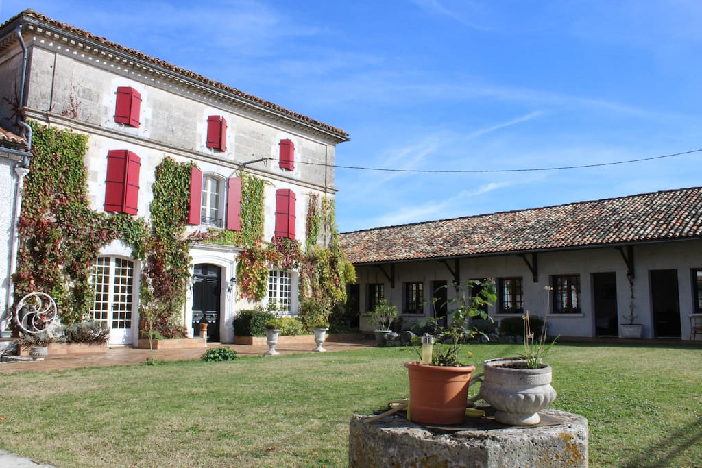 L 39 or e des bois bed breakfast chambres d 39 h tes louer for Chambre d hote aquitaine