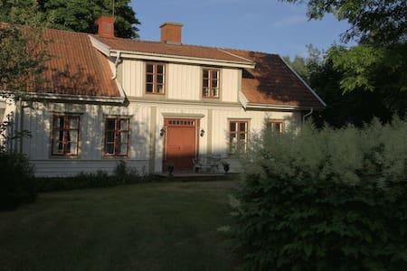 Original 1860s house in the village of Åseda - Åseda