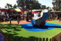 детская площадка в парке Дасуди