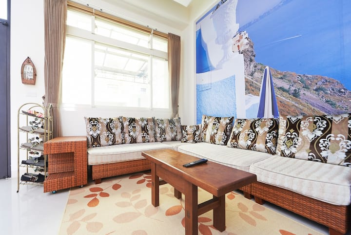 北歐風温暖色調Nordic style$1200($40USD)/晚