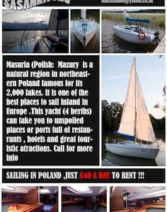 Yacht Sasanka for 4  - Ruciane nida