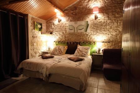 Chambre Natura en Vexin - Brueil-en-Vexin - Bed & Breakfast