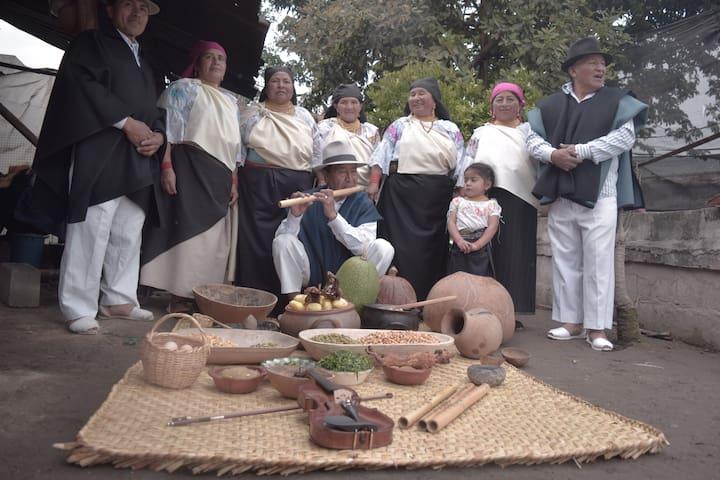 Convivencia ancestral con la madre tierra