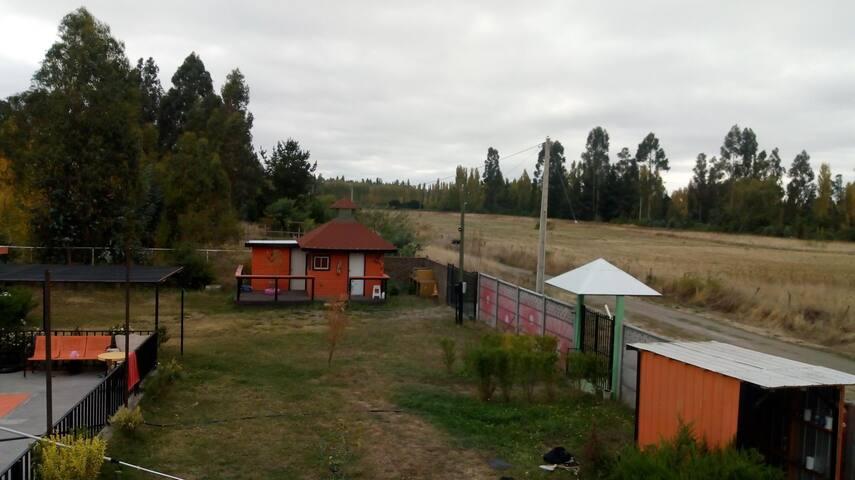 Casa de campo en Yumbel, naturaleza y diversión