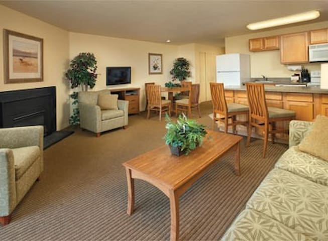 Washington-Surfside Inn Resort 1 Bdrm Condo - Ocean Park - Villa