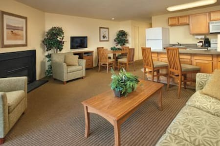 Washington-Surfside Inn Resort 1 Bdrm Condo - Ocean Park