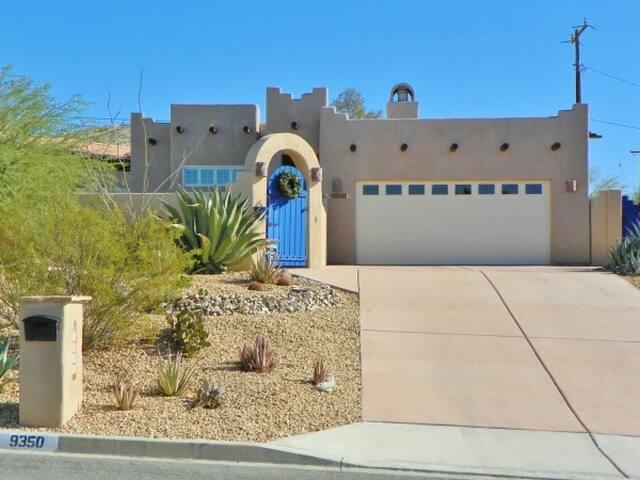 PRIVATE DESERT RETREAT - Desert Hot Springs - Casa