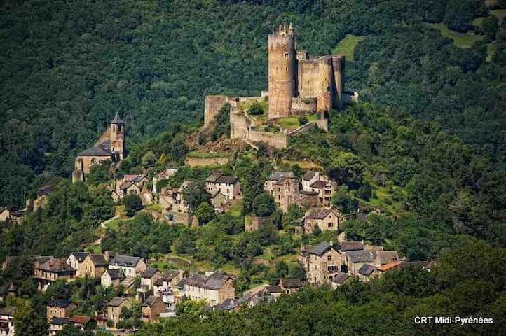 Maison de village en pierres - Najac - Casa