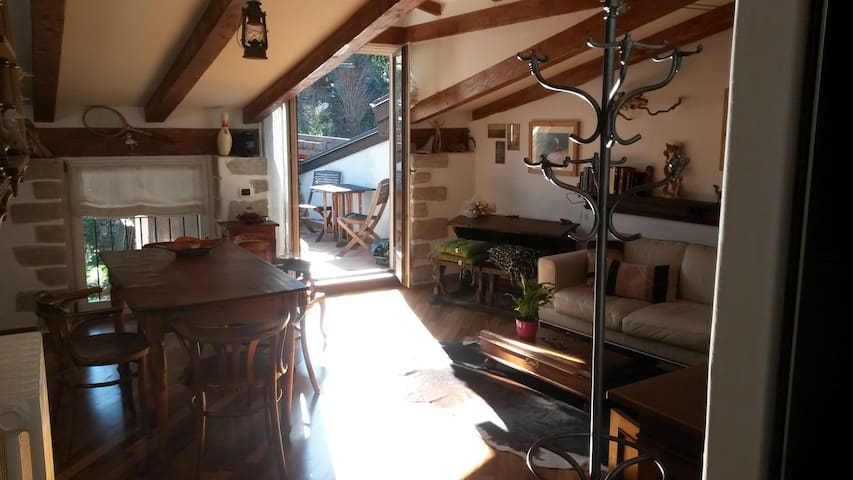 Attic with panoramic view terrace - Arco - Loft