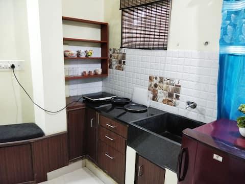 Private and Cozy Studio Flat in JP Nagar