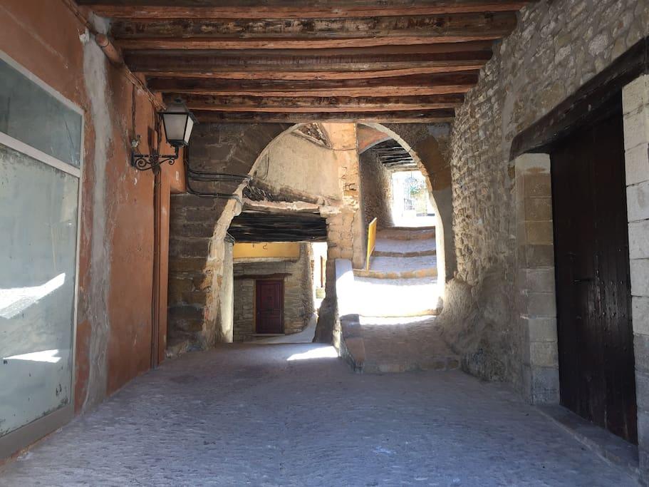 Portal d' entrada al C/ de la Penya