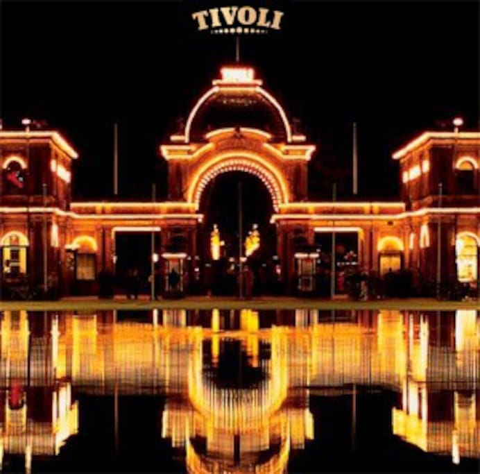 Tivoli only 15 minutes away by train.