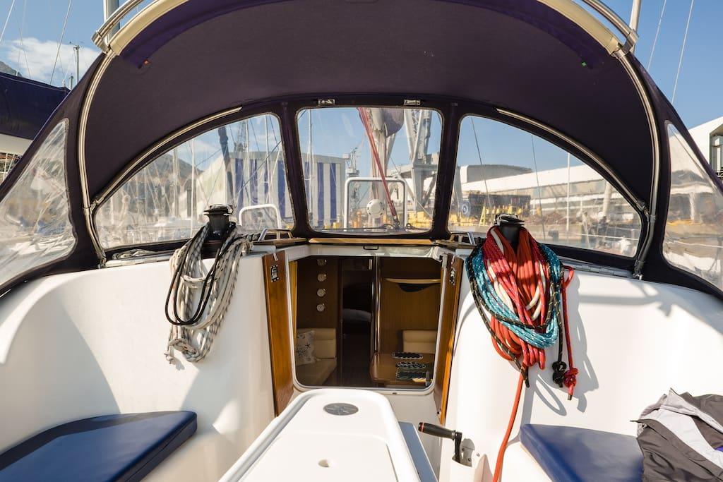 Alchimia, our beautifull sailing boat