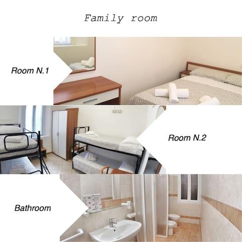 Studio o family room a Marina centro