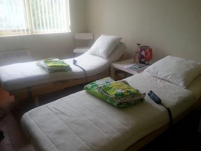 Comfortable  room for 1 or 2 people - Amsterdam-Zuidoost - Bed & Breakfast