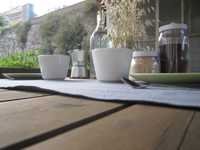 Appartamento con giardino a Porta Pispini.