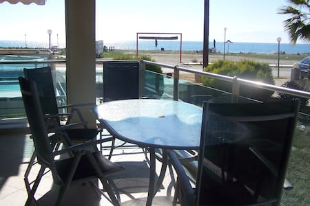 seaside  family appartments  - Paralia Ofriniou - Flat