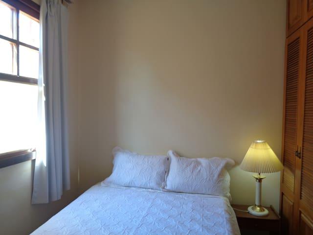 Screened Window Bedroom