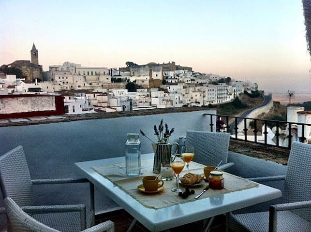 Andaluz Romantic Duplex with views - Vejer de la Frontera - Dom
